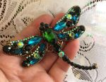 Large brooch Dragonfly