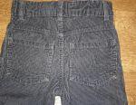 Dark blue corduroy pants. For 6-7 years. BOO