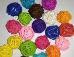Rattan balls for decor 1 pc