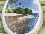 Toilet seat photoprint