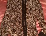 Блузка леопардова