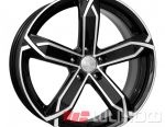 Wheels KiK X-fighter 6x15 PCD 5x114.3 ET 45 DIA 67.10 Diamond Black