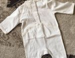 Overalls from 0-3 months (3 pieces)
