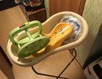 Bath, stand, slide, circle, chair