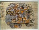 Papirus în cadru 2 picturi