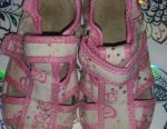 Textile shoes for girl