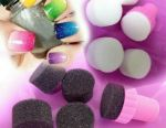 Sponges for design of nails. New