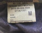 British Army Leather Gauntlets