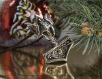 Μενταγιόν για το σφυρί ανδρικό ρολό δώρο Πρωτοχρονιάς