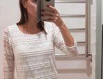 Платье кружево белое 44-46