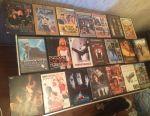 DVD diskler filmler çizgi film klipleri