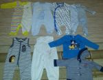 Clothing for babies 62-68. Wore a couple of times