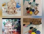 Іграшковий будинок з меблями