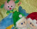 Stuffed toys, gift bags, handbags