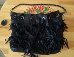 Kadın deri çanta