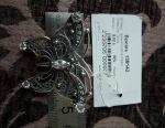 925 Broșă de argint nouă