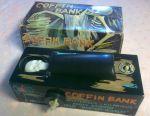 Piggy bank Coffin bank for restoration. 70s