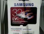 Samsung 32 gb карта памяти microSDHC