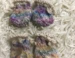 Socks knitted booties shoes for dogs