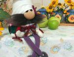 Gnomes are cooks. Interior toy