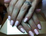 Manicure gel varnish on the exchange))