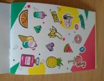 Stickers Album 8 sheets