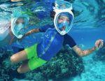 Μάσκα αναπνευστήρας Easybreath για κολύμβηση με αναπνευστήρα