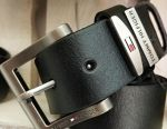 Leather belt tommi hilfiger