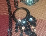 Stylish jewelry.