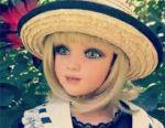 Κούκλα πορσελάνης Jan Mclean. Γκλόρια