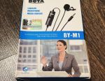 Microfon cu microfon de tip boya BY-M1