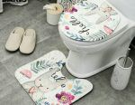Carpet and toilet seat (set)