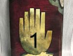Gravity Falls Diary 1 (148 pages) +2 gifts