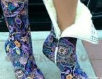 Textile boots new 38
