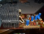 Orbit amplifier for tape recorder 106