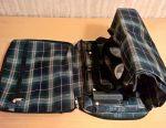 Bag on wheels, folding