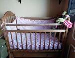 Baby bed, coconut mattress