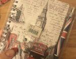 Londra Anahtarlıklar, Not Defteri, Kalem İngilizce Hediye