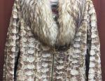 Жіноча куртка з натурального хутра норки і лисиці
