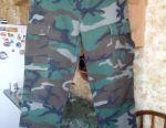 Камуфляжные брюки( расцветка Woodland)