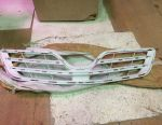 Lattice radiator Toyota Corolla 150 restyled