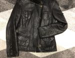 Jachetă din piele caldă