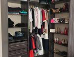 Closet wardrobe