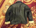 Sheepskin coat man's size 50-52