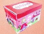 Toy storage box, 37x25x25 cm