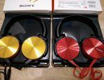 Headphones wired Sony