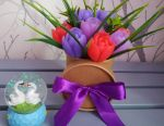 Bouquet of soap (available)