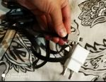 USB la adaptorul iPhone