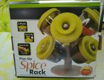 Stand, set for seasonings and spices, 6 containers