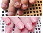Manicure + gel polish. Escalation.